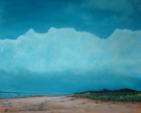 "Desolate Beauty_PEI. 26"" x 30"". AVAILABLE"